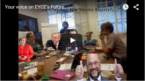 Watch the YouTube video inviting to EYCE's General Meeting here.