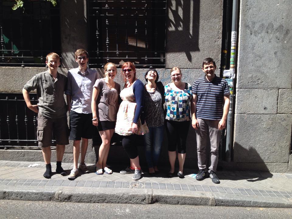 EYCE ExCo meets in Madrid, Spain