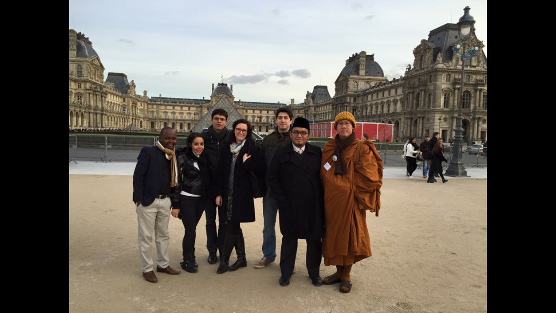 Religions for Peace Global Religious Youth Leaders' Summit, Paris 26-29 November 2015