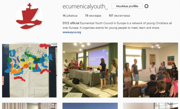 EYCE is now on Instagram